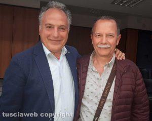 L'avvocato Carmelo Ratano e l'ex assessore di Graffignano, Luciano Cardoni