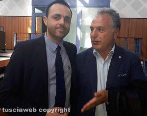 Da sinistra, gli avvocati Samuele De Santis e Carmelo Ratano