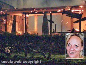 Ristorante in fiamme a Capodimonte - Nel riquadro: Mariana Gavazova