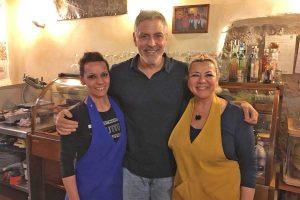 Sutri - George Clooney alla Taverna di Cimoletto