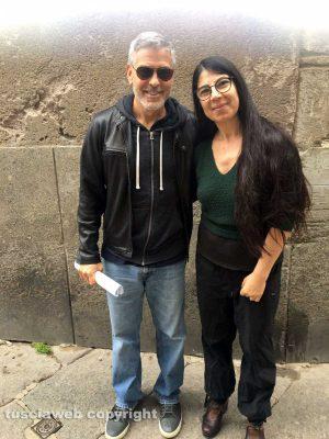George Clooney in San Pellegrino - in mid-April 9626281f-0eaf-46c6-b50f-563d7d052960-300x400