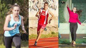 Sport - Atletica - Alto Lazio - Anselmi, Bargagli, Baldassini