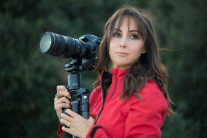 La fotografa Barbara Dall'Angelo