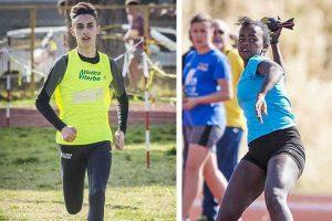 Sport - Atletica leggera - Finass Viterbo - Matteo Cianchelli e Misgana Teobaldi