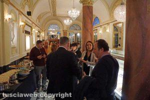 Viterbo - La riapertura del Gran caffè Schenardi
