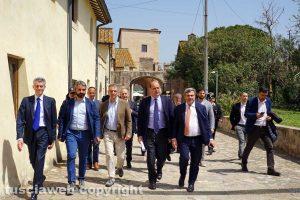 Santa Marinella - L'inaugurazione dell'ostello nel castello di Santa Severa