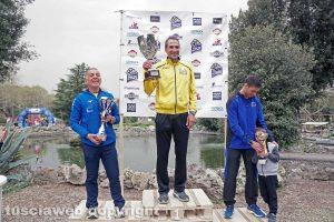 Viterbo - I vincitori della gara CorriaPratoGiardino