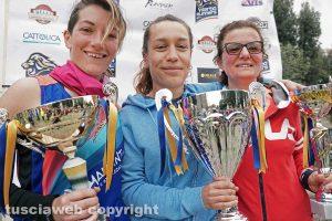 Viterbo - Le vincitrici della gara CorriaPratoGiardino