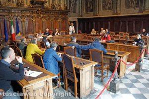 Viterbo - La riunione della II commissione comunale