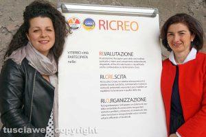 Viterbo - Chiara Frontini presenta il progetto Ricreo