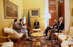 Roma - Il Pd incontra il presidente della camera Fico