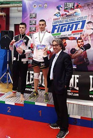 Lorenzo Esposito campione italiano kick-boxing