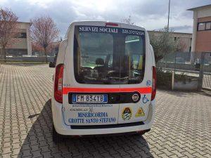 Il Fiat Doblò donato alla Misericordia di Grotte Santo Stefano