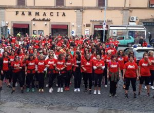 Viterbo - Street workout a piazza del Teatro