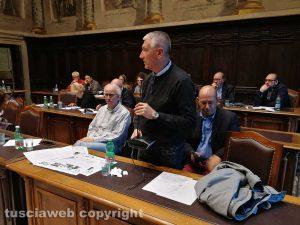 Viterbo - Livio Treta parla in consiglio comunale
