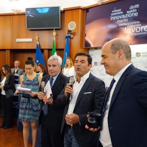 Max Giusti premiato al Coni