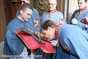 Viterbo - Il principe Pedro di Borbone-Due Sicilie alla Trinità