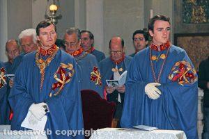 Viterbo - Il principe Pedro di Borbone-Due Sicilie e il figlio Giacomo alla Trinità