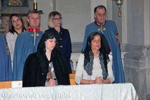 Viterbo - La principessa Benigna Reuss e la contessa Fadrique Donà delle Rose alla Trinità