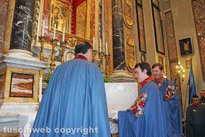 Viterbo - Gli onori alla Madonna Liberatrice del principe Pedro di Borbone-Due Sicilie e del figlio Giacomo