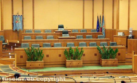 Regione Lazio - L'aula del consiglio