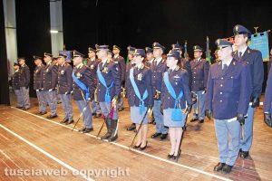 Viterbo - La 166esima festa della polizia al teatro Unione