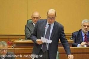 Il consiglio regionale - Nicola Zingaretti
