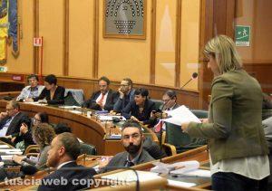 Il consiglio regionale - Roberta Lombardi