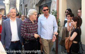Sutri - Vittorio Sgarbi con Felice Casini