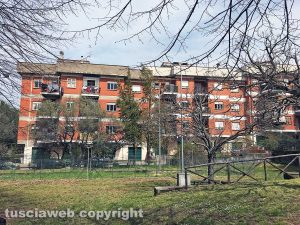 Viterbo - Le case Ater di via Silvio Pellico