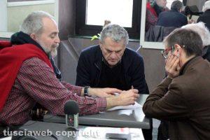 Antonello Ricci con Gianluca Forti e Angelo D'Orazi