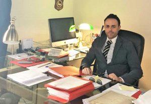 L'avvocato Samuele De Santis