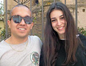 Lorenzo Costantini e Chiara Bordi