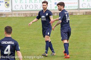 Sport - Calcio - Viterbese - Daniele Celiento e Luca Baldassin