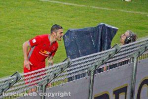 Sport - Calcio - L'esultanza di Michele Marconi