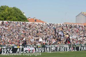 Sport - Calcio - Alessandria - I tifosi in curva