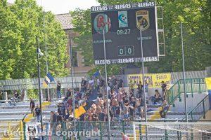Sport - Calcio - Viterbese - I tifosi ad Alessandria
