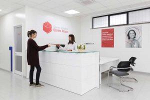 Viterbo - Il centro medico Santa Rosa