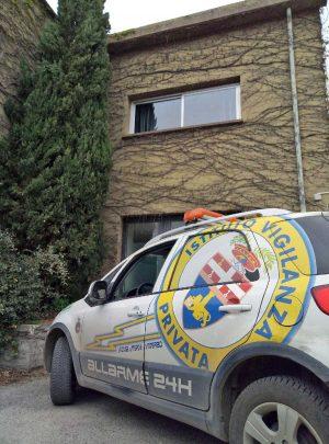 Viterbo - Sventato furto in villa dagli uomini dell'istituto di vigilanza privata