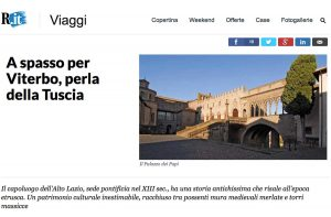 L'articolo di Repubblica dedicato a Viterbo