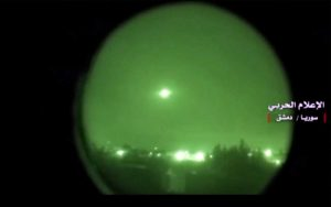 Siria - Missili su Damasco