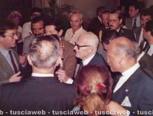 Renzo Trappolini con Sandro Pertini e Cecilia Gasdia