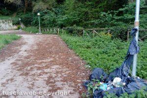 Viterbo - Il giardino della Grotticella