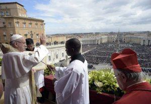 Vaticano - Papa Francesco - La benedizione Urbi et orbi