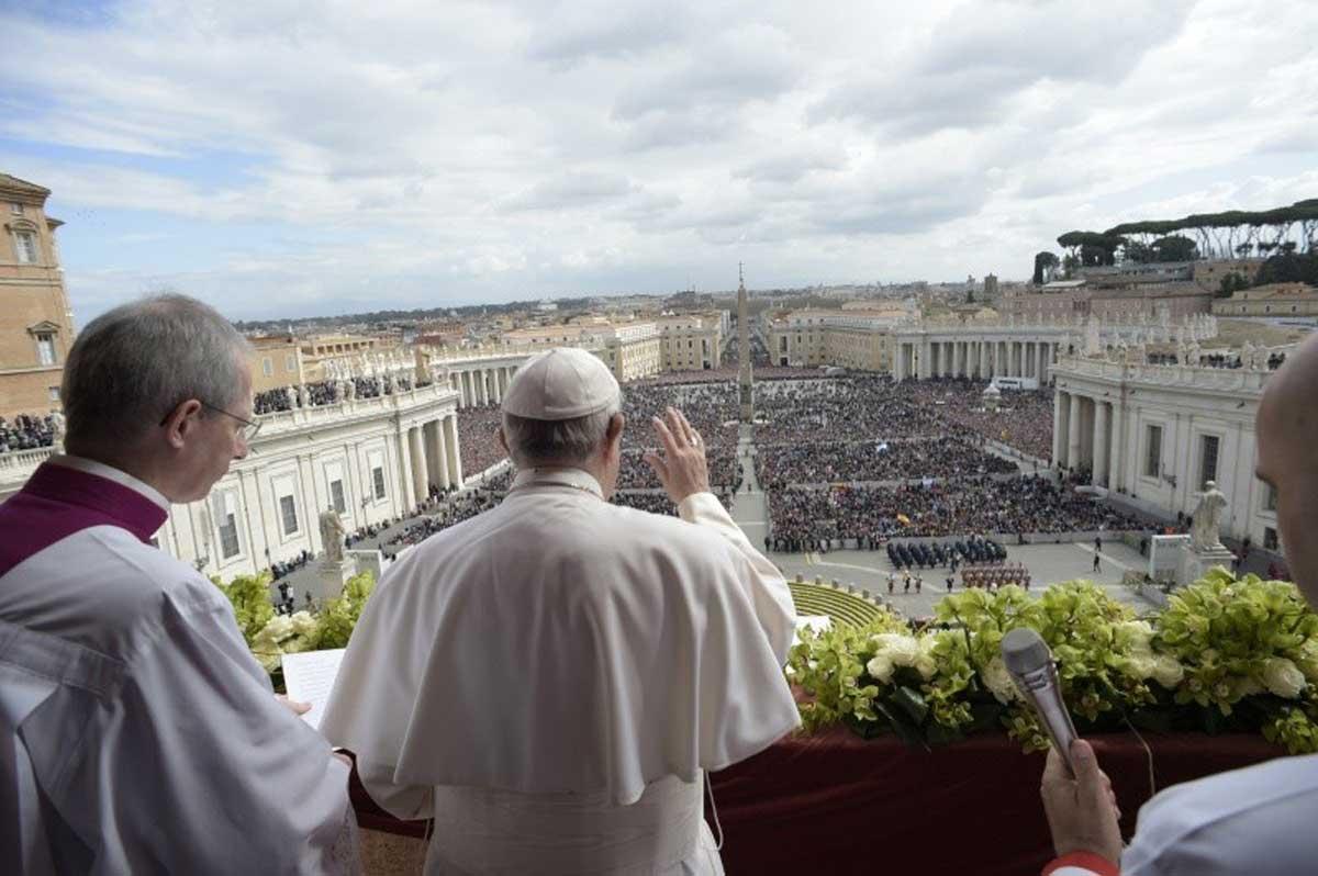 Pasqua, Papa Francesco: