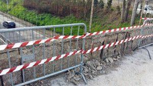 Viterbo - Il cavalcavia della Teverina che sovrasta la circonvallazione