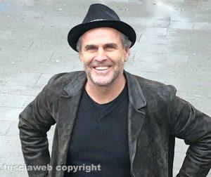 Tuscania - L'attore Pino Quartullo