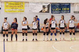 Sport - Pallavolo - Sporting Viterbo - Le viterbesi in campo
