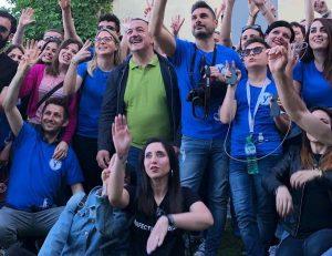 Vitorchiano - Un gruppo di partecipanti al Photowalk