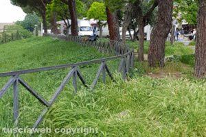 Viterbo - Degrado a piazza dei Caduti